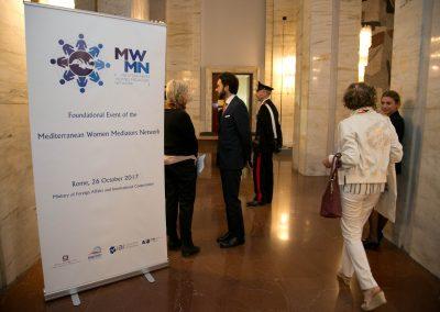 """26 ottobre 2017 - """"Evento fondativo del Mediterranean Women Mediators Network - Foto di Leonardo Puccini"""