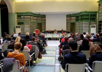 """10 marzo 2016 – """"Evento di lancio del network di WIIS Italy presso la Biblioteca del Senato della Repubblica a Roma"""""""