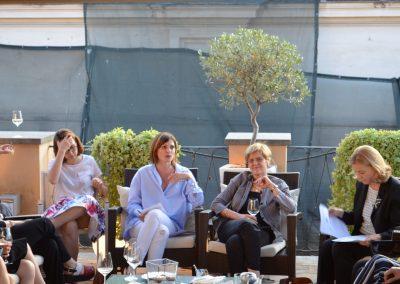 """31 maggio 2017 - """"Il cammino dei diritti delle donne nell'Agenda Globale"""" - Lia Quartapelle, Irene Fellin, Bianca Pomeranzi, Elisabetta Belloni - Foto di Eleonora Tamagnoli"""