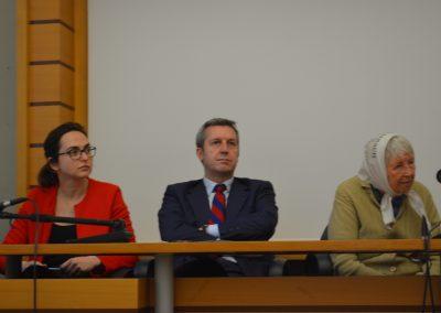 """01 marzo 2017 – """"Donne per i Diritti"""" - Lia Quartapelle, Benedetto della Vedova, Vera Vigevani Jarach - Foto di Eleonora Tamagnoli"""