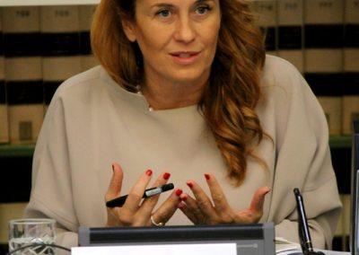"""10 marzo 2016 – """"Evento di lancio del network di WIIS Italy presso la Biblioteca del Senato della Repubblica a Roma"""" - Monica Maggioni"""