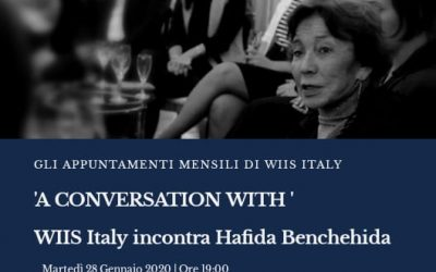 A Conversation with Hafida Benchehida