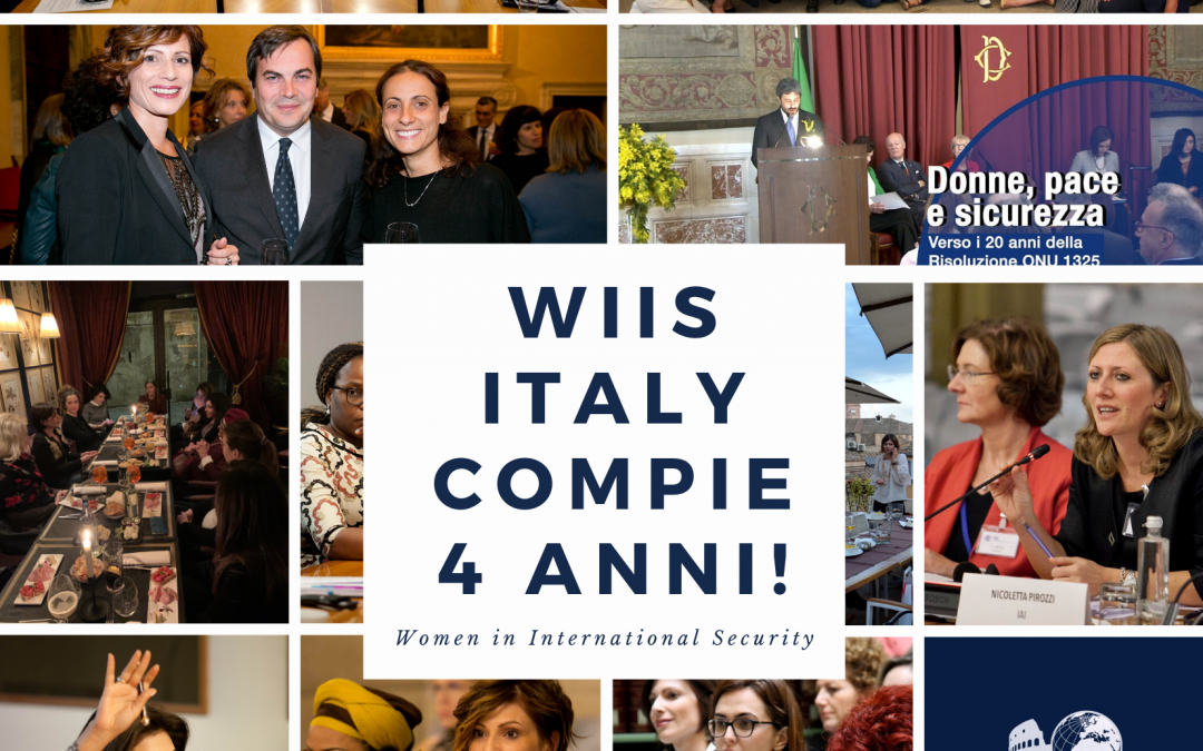 It's WIIS Italy's 4th Birthday today!