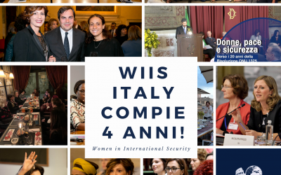 WIIS Italy compie 4 anni!