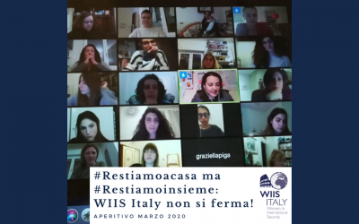 First WIIS Italy online Happy Hour