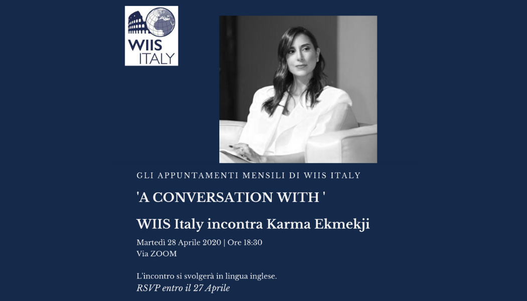 A conversation with Karma Ekmekji
