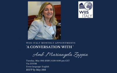 A Conversation with Amb. Mariangela Zappia