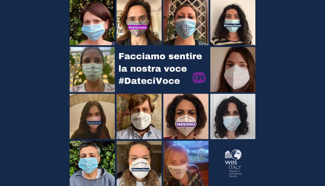 Anche WIIS Italy aderisce al flashmob di #DATECIVOCE del 2 maggio