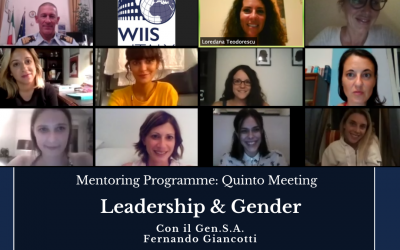 Programma di Mentoring quinto incontro online: Secondo Training sulla Leadership