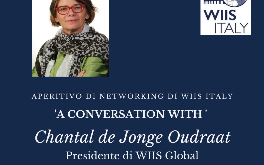 A Conversation with Chantal de Jonge Oudraat