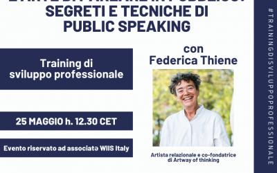 L'arte di parlare in pubblico: segreti e tecniche di public speaking