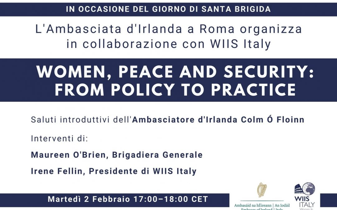 Women, Peace and Security: From Policy to Practice